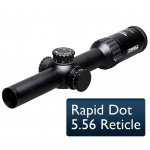 Steiner 1-5x24-Military RifleScope 5.56 Rapid Dot Reticle Model 5571